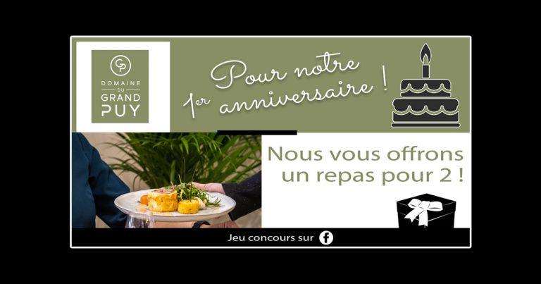 Jeu Concours Domaine Du Grand Puy