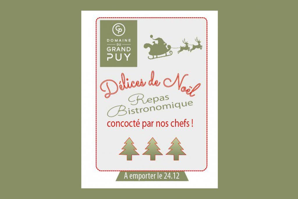 menu Noël 2020 Grand Puy